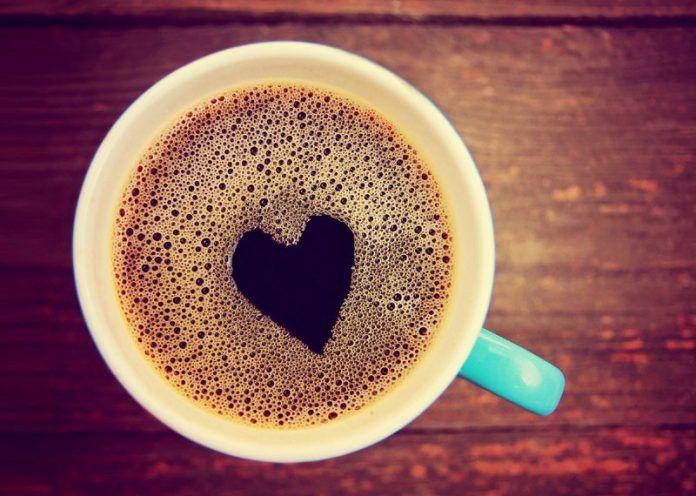 Caffeinated food