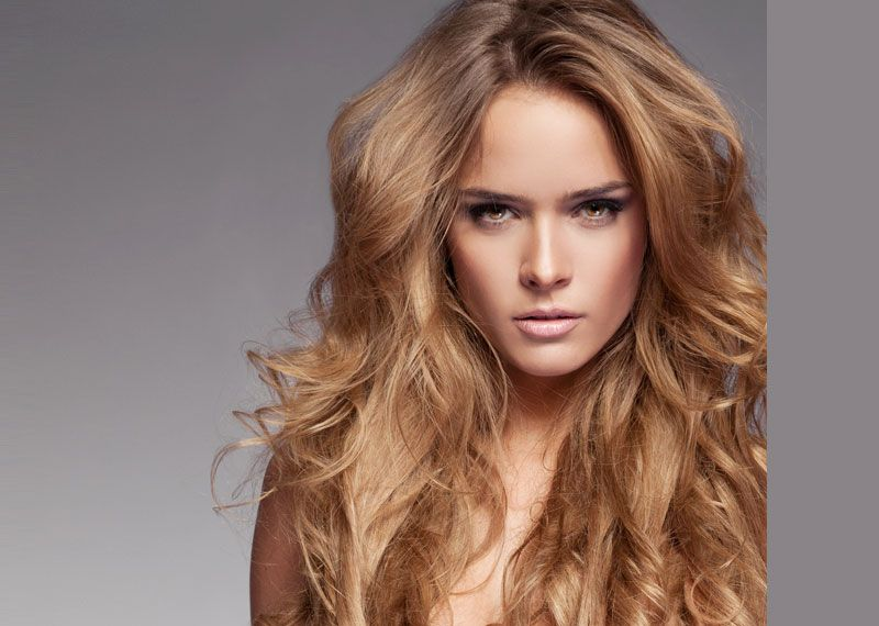 Reddish skin complexion can opt light brown color for their hair with