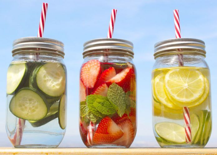 Detox waters to cleanse your body