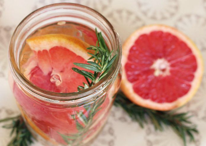 Grapefruit Detox Water