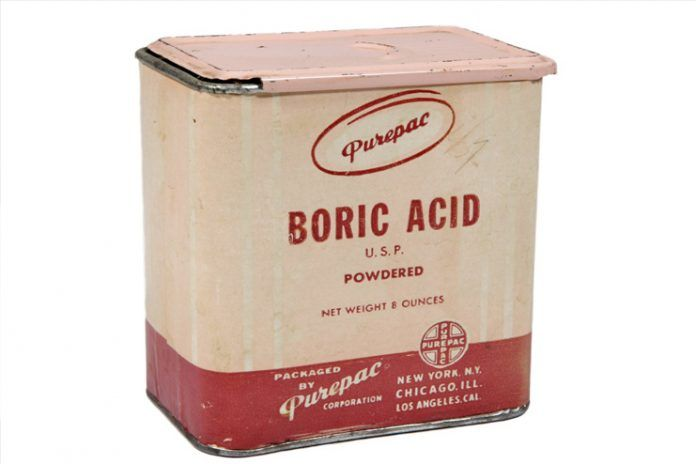Boric Acid Eyewash for Pink Eye