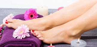 Domestic Pedicure at home