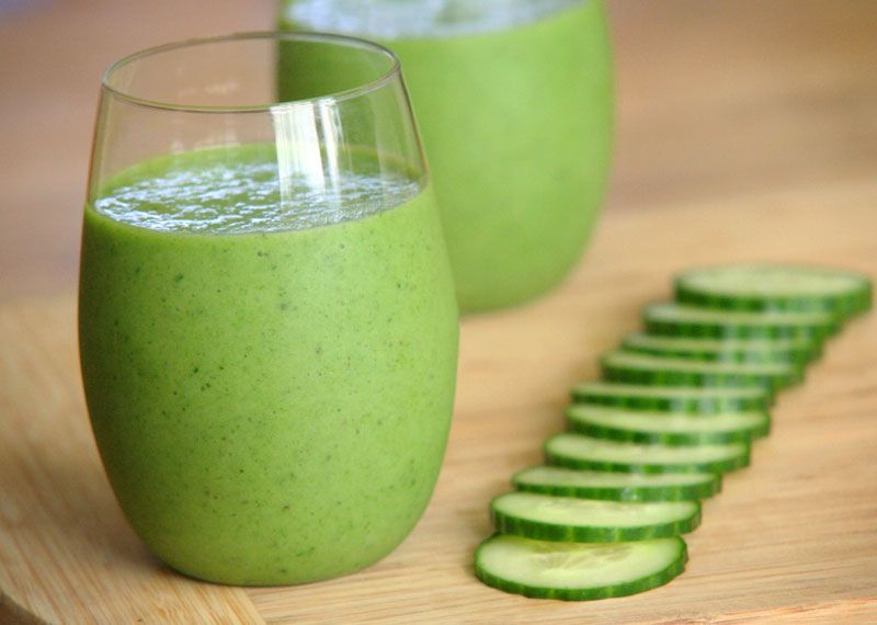 Spinach and Cucumber