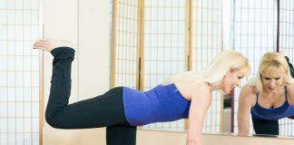 Pilate exercises for a stronger core