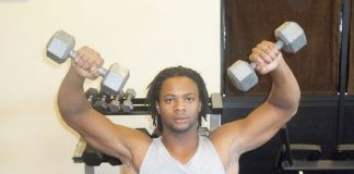 Standing Dumbbell Flyes