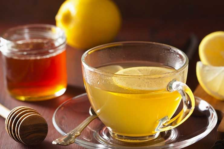 Lemon and Honey for Cold