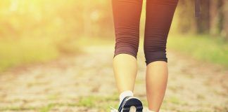 Lose weight through walking
