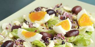 Study Shows Eggs With Salads Boosts Vitamin E Absorption