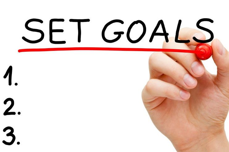 Set simple goals