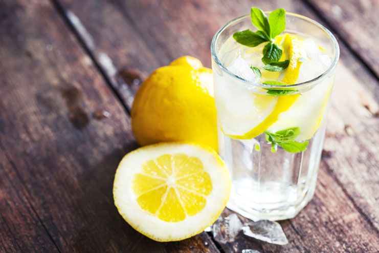 Lemons And Lemon Water