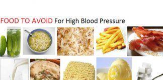 hypertension food to avoid