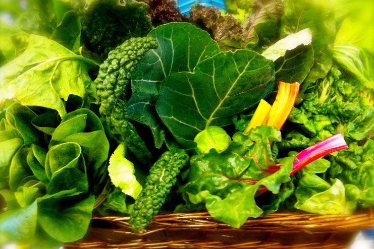 Eat leafy greens