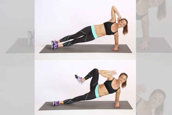 Do the plank walk -up
