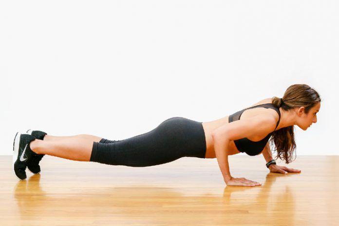 Do push ups correctly
