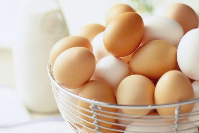 Avoid raw eggs