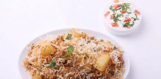 Soya Keema Biryani Recipe