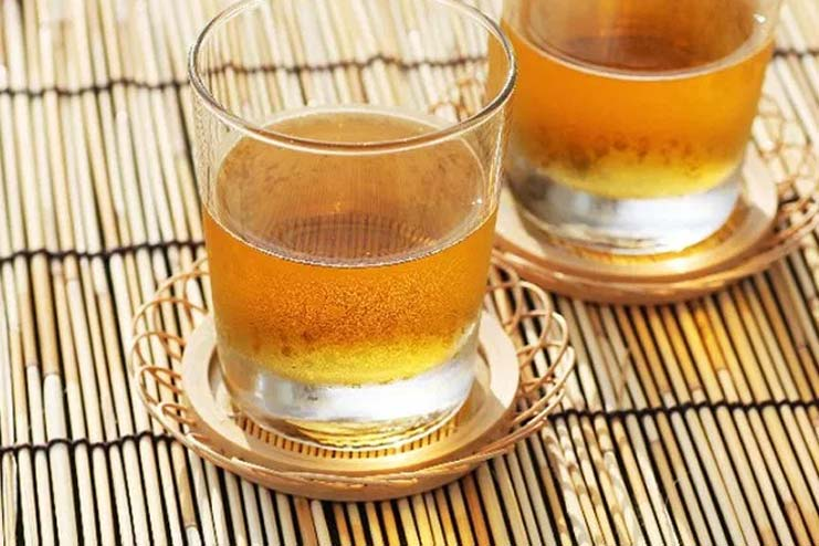 Storage Of Barley Tea