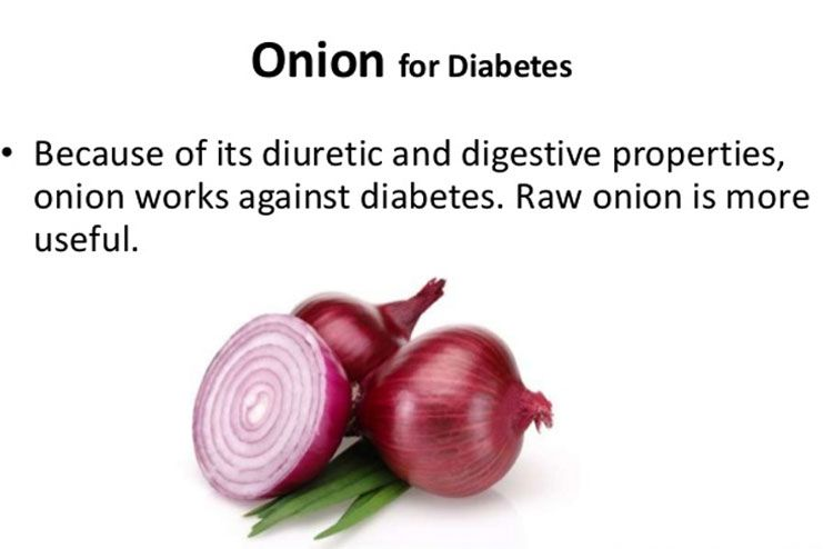 Onions may prevent diabetes to some extent