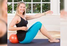 Barre workout for post pregnancy weight loss