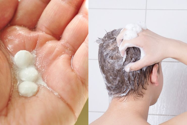 Aspirin helps in treating dandruff