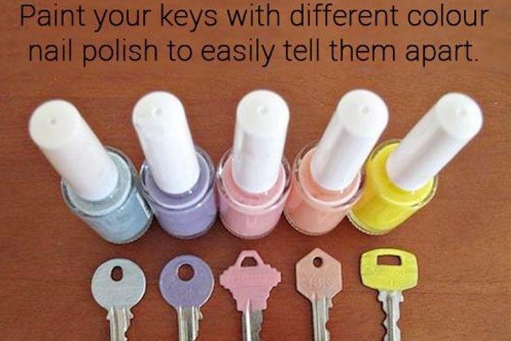 Paint your keys