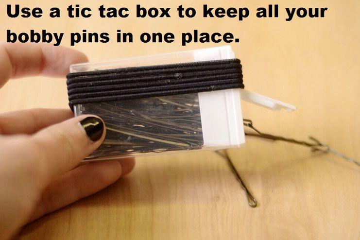 Old empty tic tac box