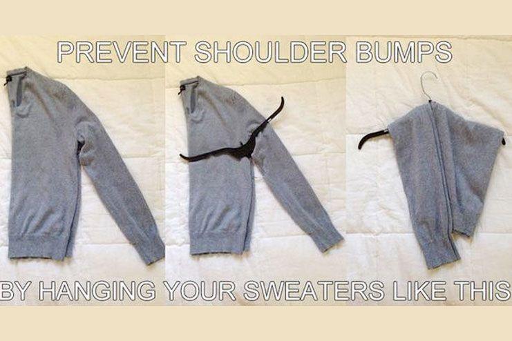 Prevent shoulder bumps