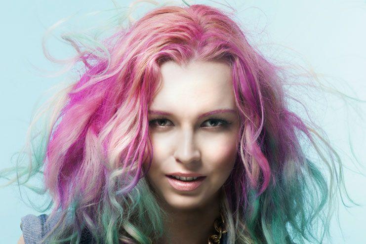 chemical based hair dye
