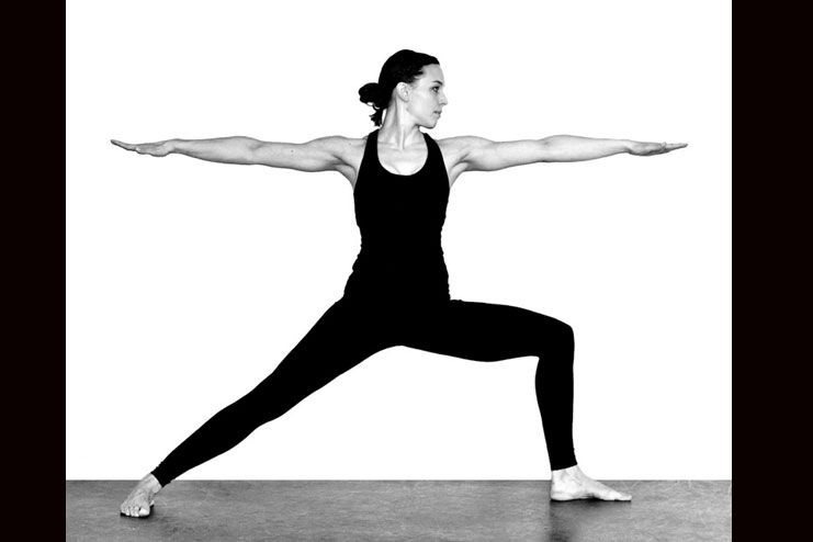 Vibhadrasana II or warrior pose II