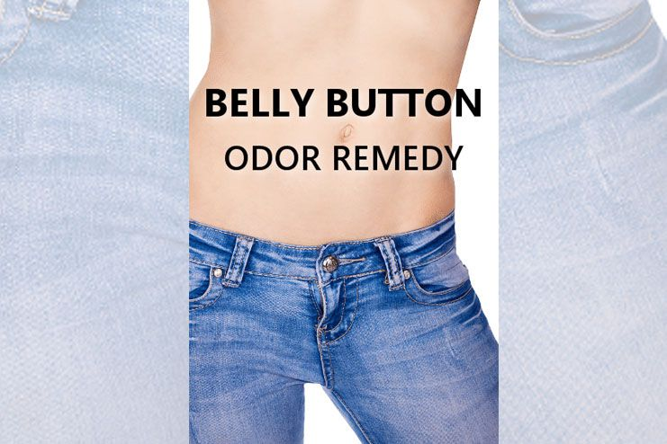 belly button smell naturally