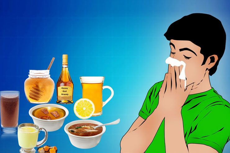 cure for cold and cough at home