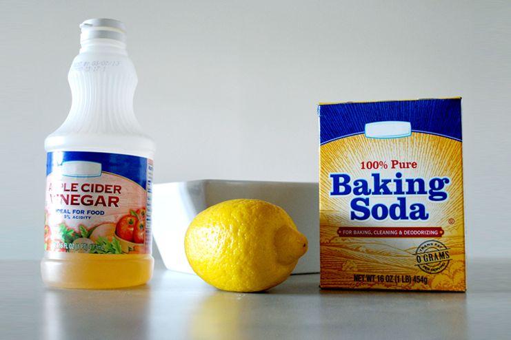 Apple Cider Vinegar and Baking Soda for Sore Throat