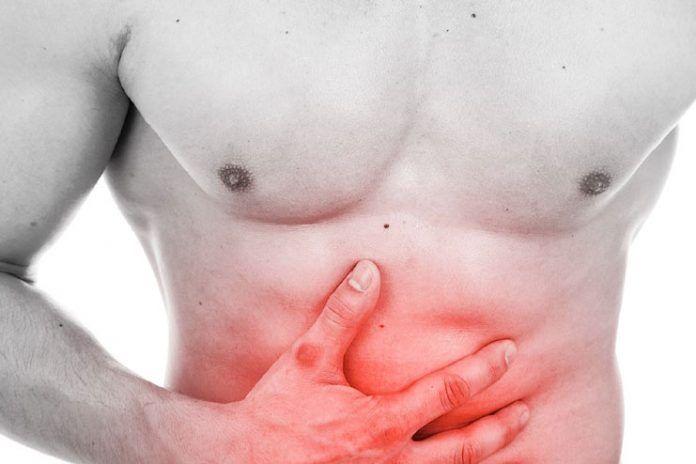 upper abdominal pain