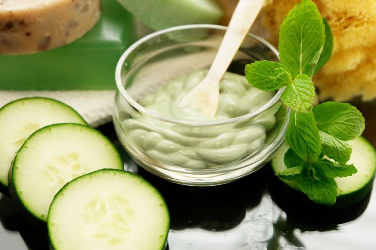 using cucumber for acne