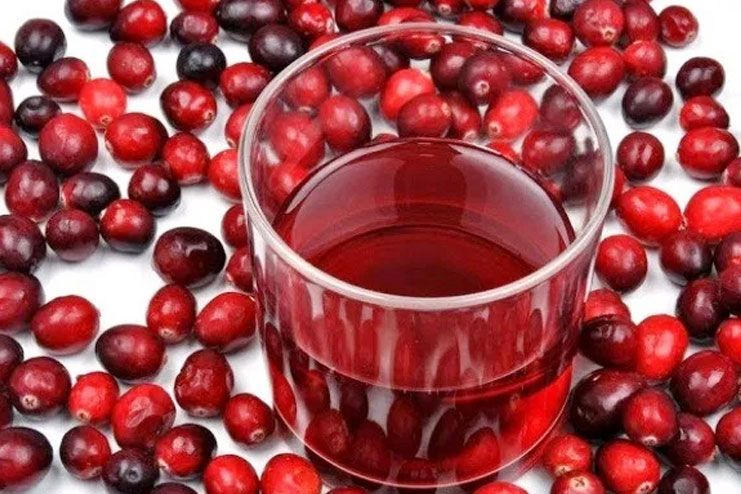 using cranberry juice for yeast infection