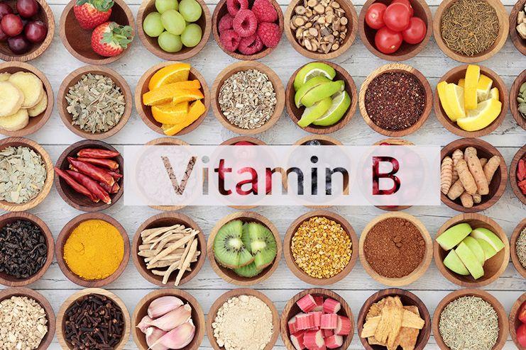 Vitamin B for tongue sores