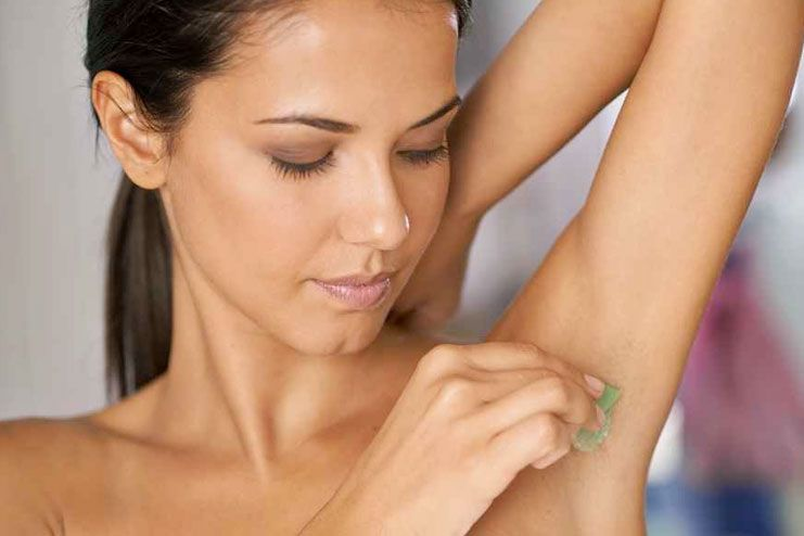 prevent armpit rash