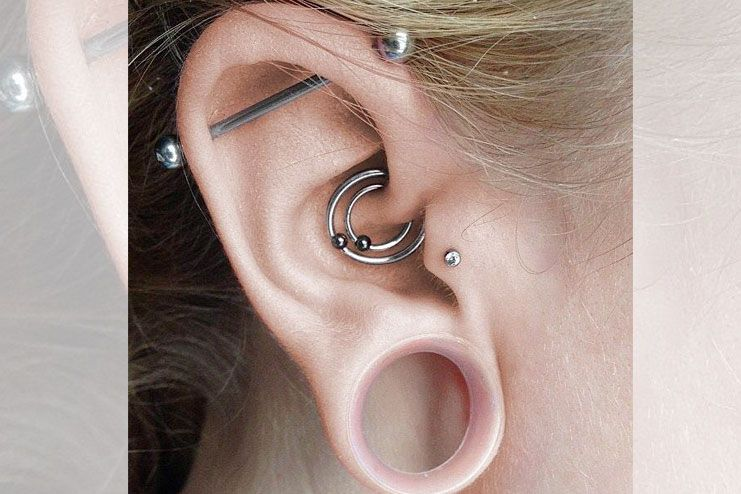 What is daith ear piercing