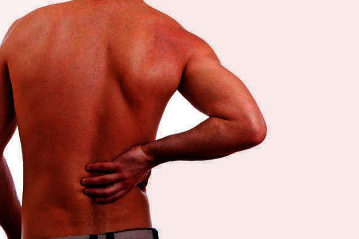 get rid of the lower right back pain