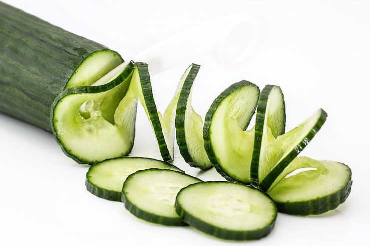 Cucumber to cure Heat Rash