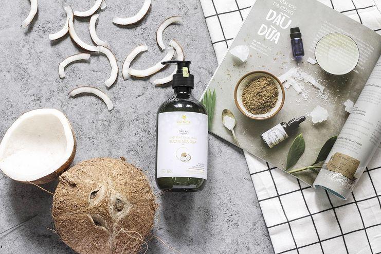 Coconut Oil and Vitamin E Oil remedy