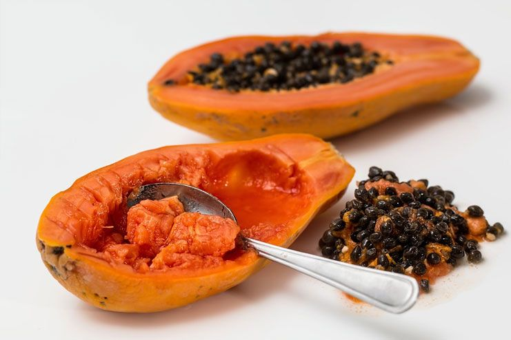 Papaya for Heat Rash