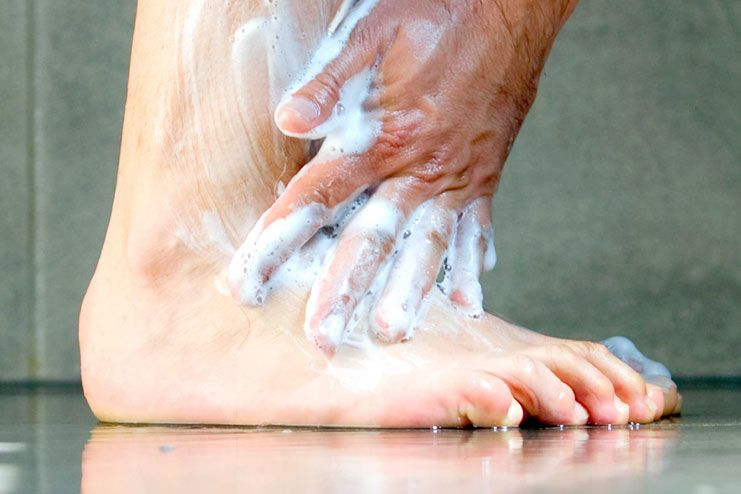 Foot care tips if you have diabetes