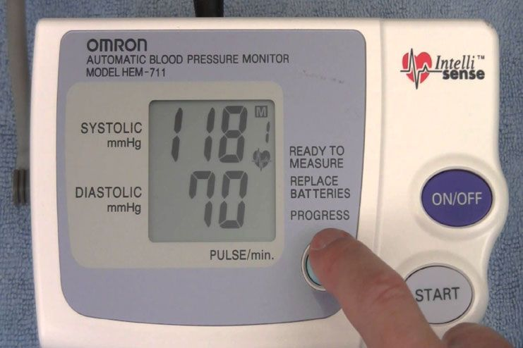 Manage blood pressure