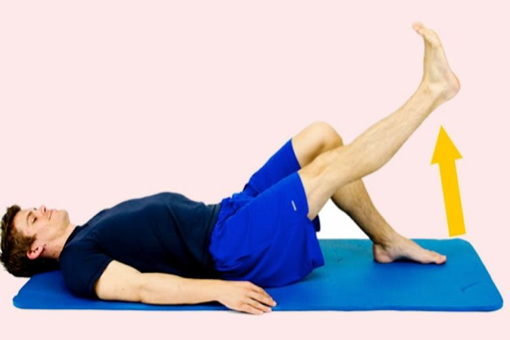 Simple Knee Stretching-Knee Strengthening Exercises