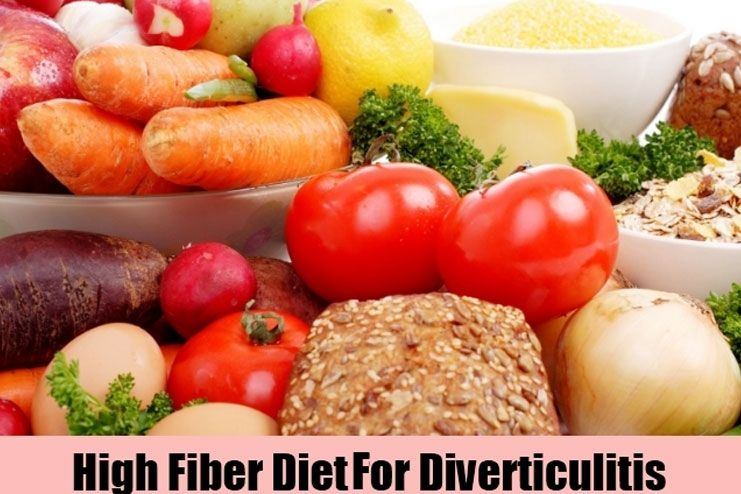 High Fiber Diet-Soothe Diverticulitis
