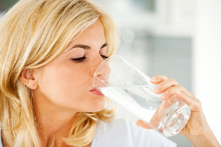 Drinking water on an empty stomach increases energy