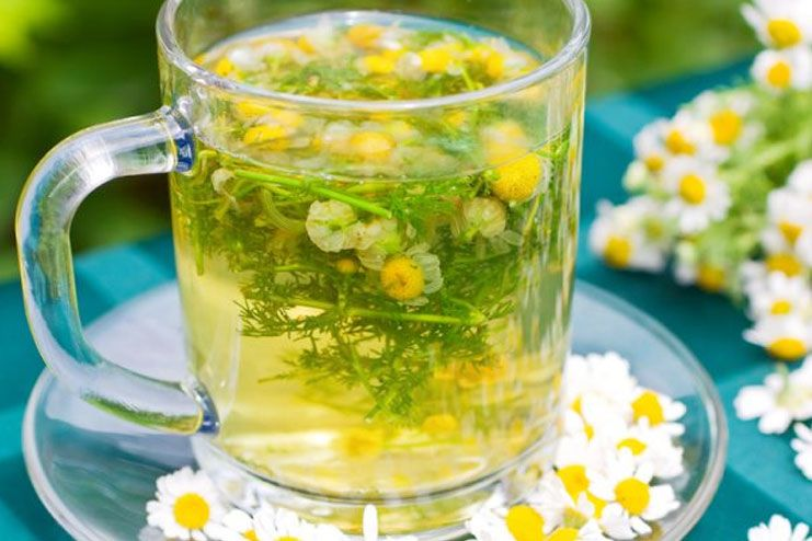 Abortion With Chamomile/Green Tea