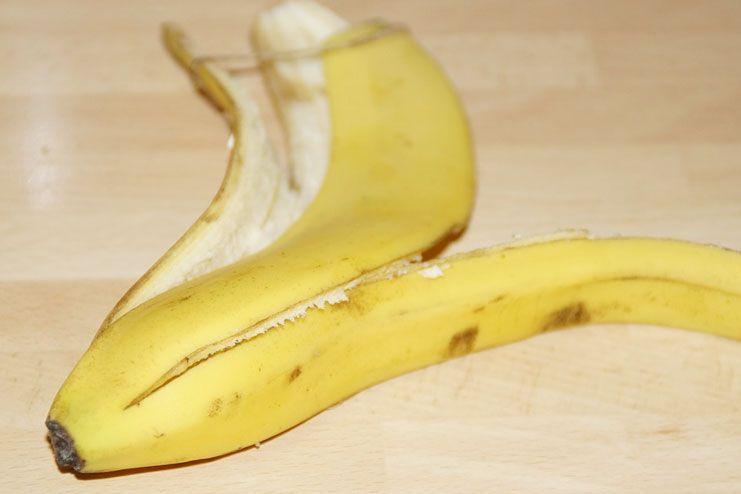 Cystic Acne Treatment-Banana Peel
