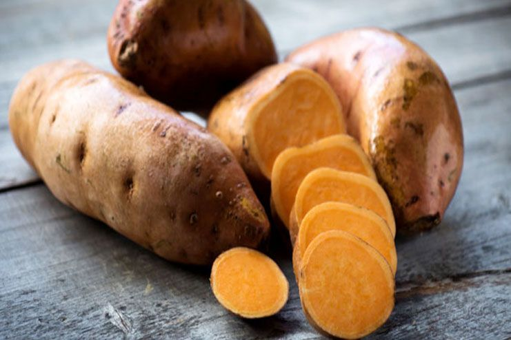Sweet Potato To Reduce Eye Puffiness & Dark Circles